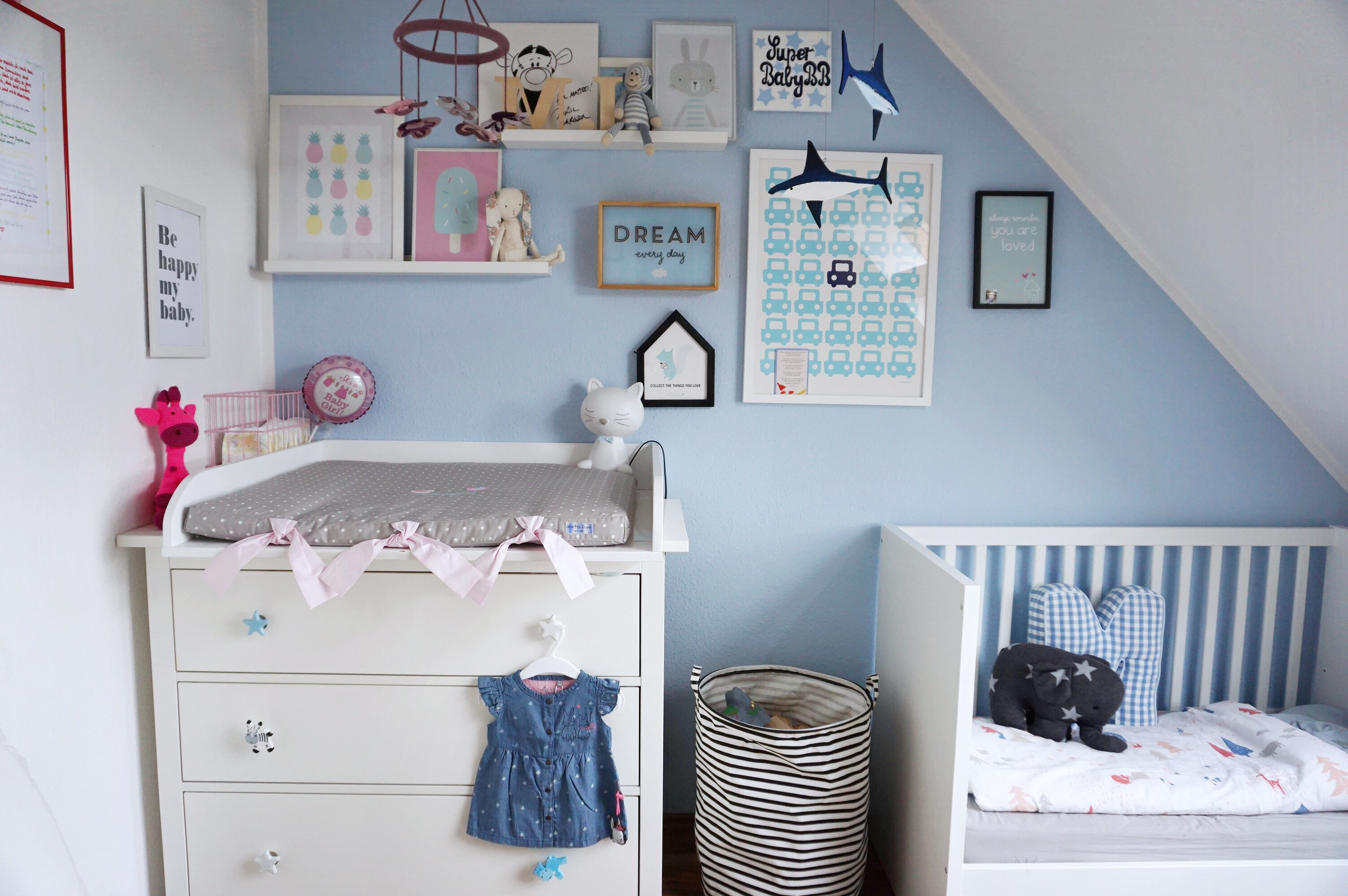 Baby Ein Kinderzimmer F R Zwei Kinder Wie Der